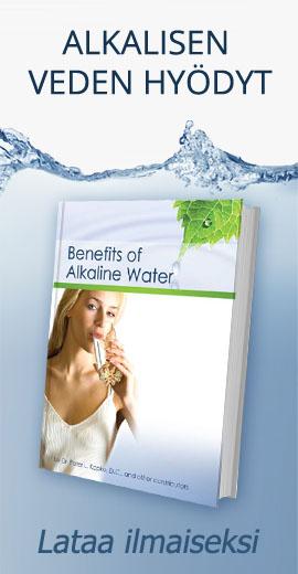 Alkalisen veden hyödyt - Lataa e-kirja ilmaiseksi